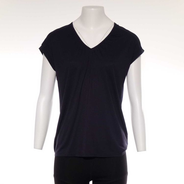Esprit Basic T-Shirt Gr. M in Blau (AHB)