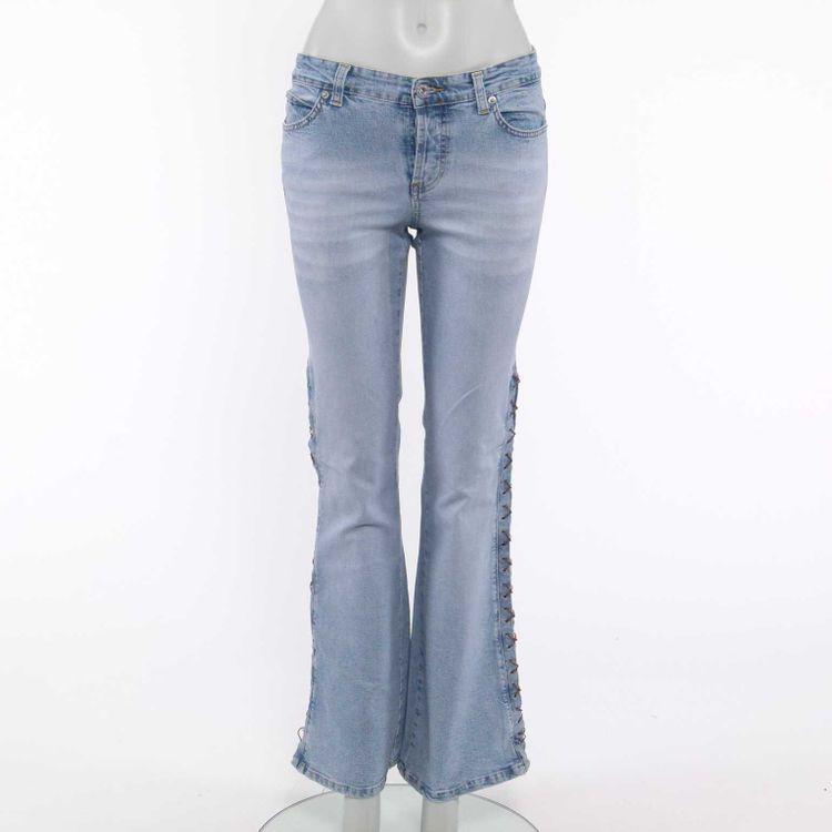 Cambio Jeans Hose W 29 in Denim Blau (HH)
