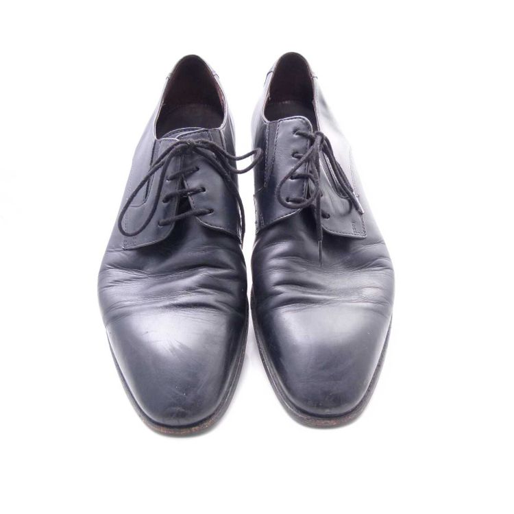 Lloyd Leder SchnŸrschuhe Schuhe Gr. 42 dt. 8 Uk Schwarz (AHB) – Bild 4