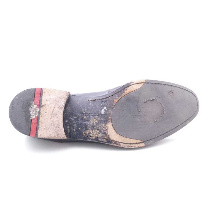 Lloyd Leder SchnŸrschuhe Schuhe Gr. 42 dt. 8 Uk Schwarz (AHB) – Bild 5