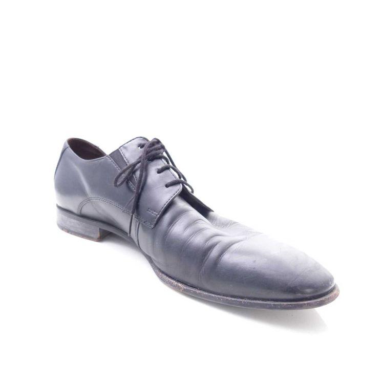 Lloyd Leder SchnŸrschuhe Schuhe Gr. 42 dt. 8 Uk Schwarz (AHB) – Bild 1