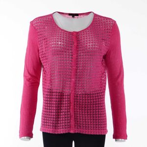 1.2.3. Paris Strick Jacke Gr. 40 in Pink (AHB)
