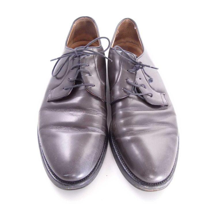 Mr. Hare Schnürschuhe Schuhe Gr. 42 in Grau Oliv Leder (AHB) – Bild 3