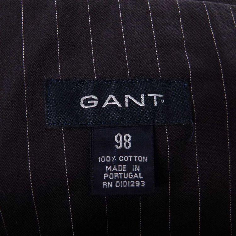 Gant Sakko Gr. 98 in Schwarz/Blau Weiß Nadelstreifen (AHB) – Bild 3