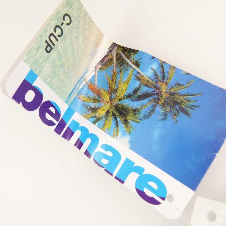 Belmare Badeanzug Gr. 42 C CUP Blau Gemustert NEU (HH) – Bild 4