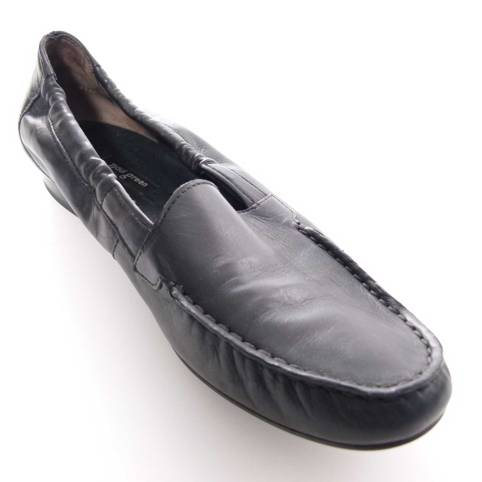 paul green slipper schuhe gr 36 dt 5 us in schwarz ahb women schuhe. Black Bedroom Furniture Sets. Home Design Ideas