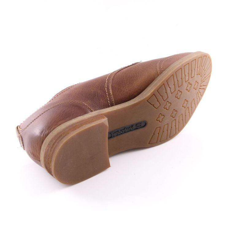 Timberland Leder Schnür Schuhe Gr. 41 Braun (HH) – Bild 5