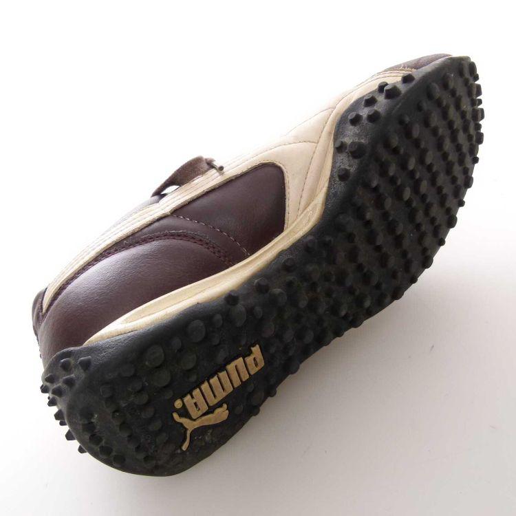 Puma Temo Leder Sneaker Schnürschuhe Gr. 42 DE / 9 US in Weinrot Rot (MUC) – Bild 5