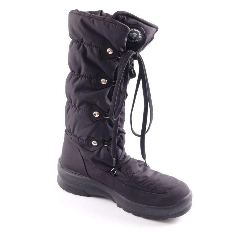 San Bernando Stepp Stiefel Boots Schuhe Gr. 39 Schwarz (HH) – Bild 2