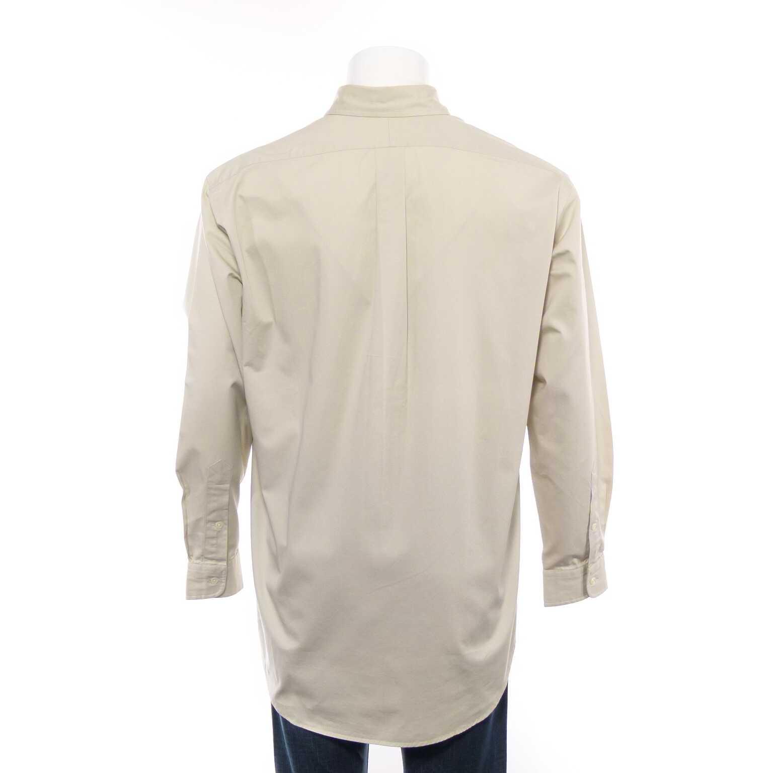 polo ralph lauren blake hemd gr m in beige ivory gestreift ahb men hemden. Black Bedroom Furniture Sets. Home Design Ideas