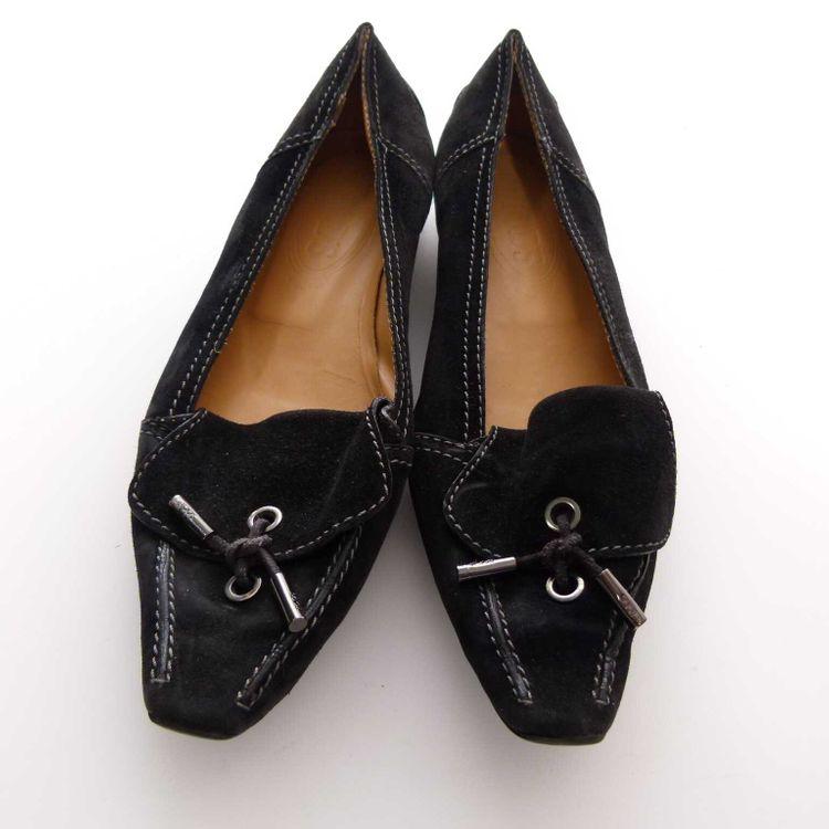 Tod´s Ballerinas Mokassins Schuhe Gr. 38 in Schwarz (MUC) – Bild 3