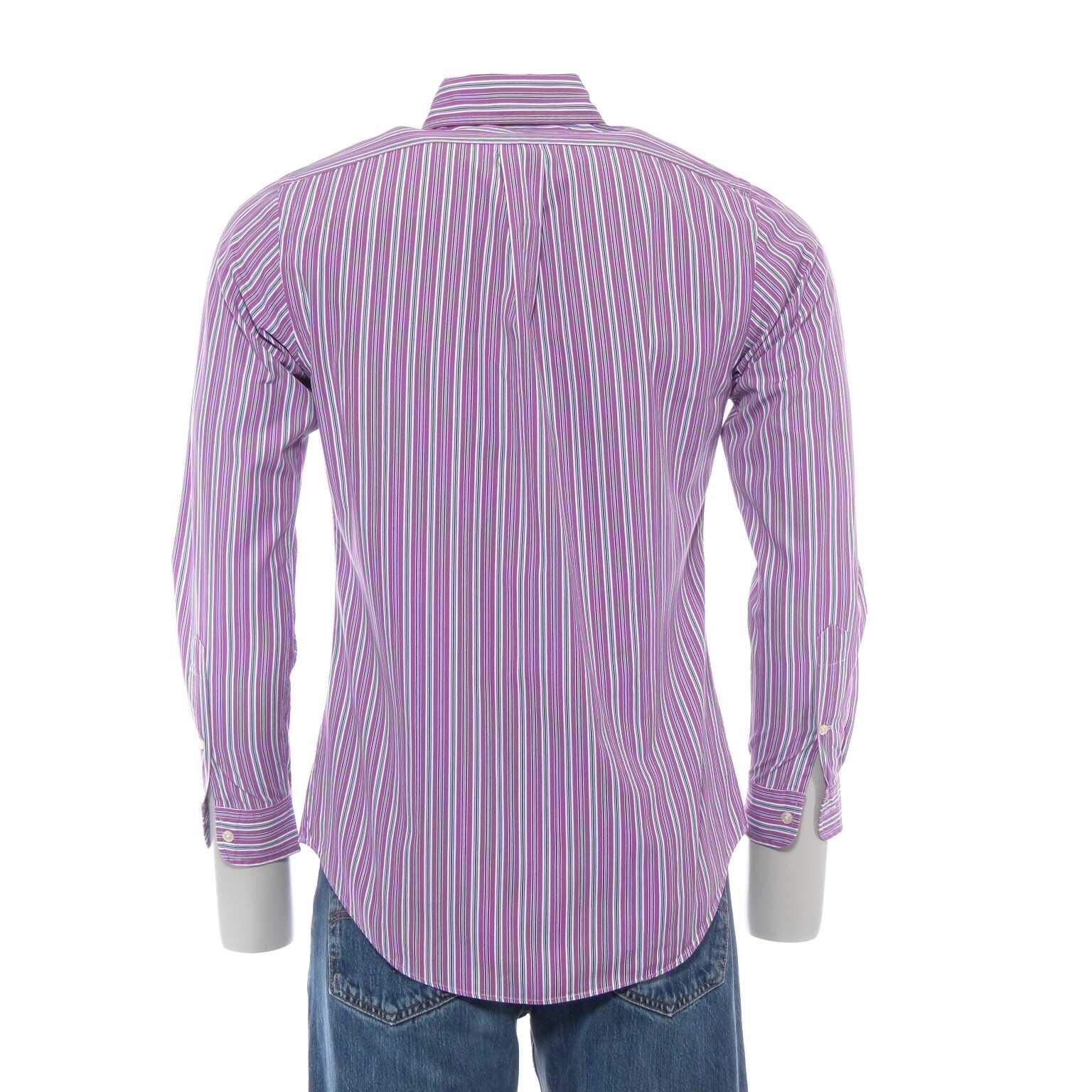 ralph lauren custom fit hemd gr s in purpur lila wei. Black Bedroom Furniture Sets. Home Design Ideas