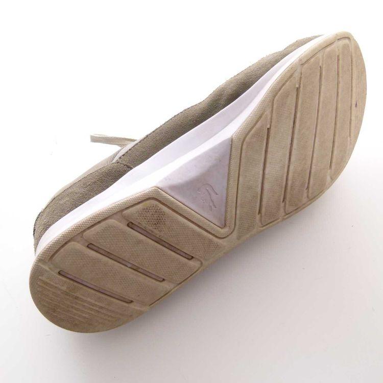 Lacoste Sneaker Schnür Schuhe Gr. 41 Grün Grau (MUC) – Bild 5