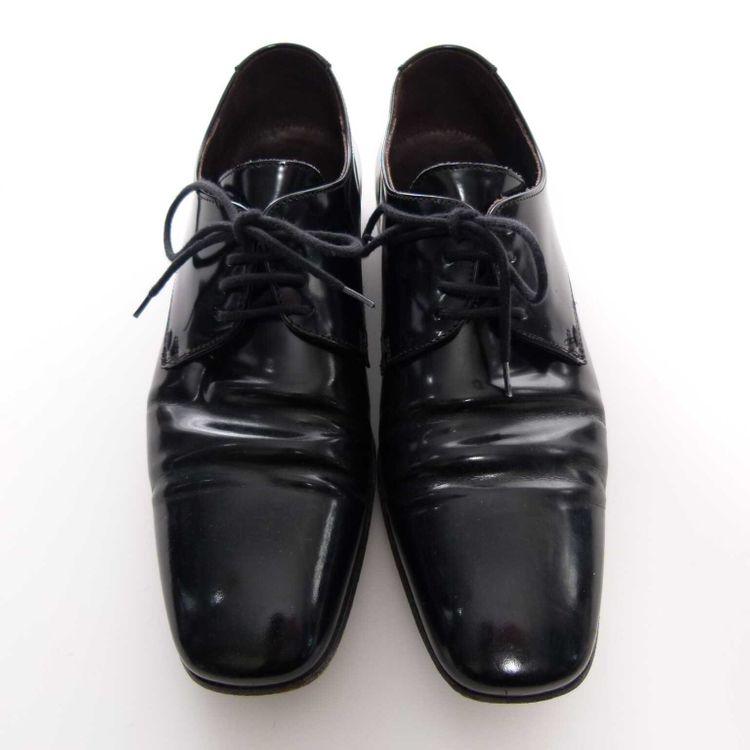 Lloyd Leder Schnürschuhe Schuhe Gr. 39 DE / 6 UK in Schwarz (AHB) – Bild 3