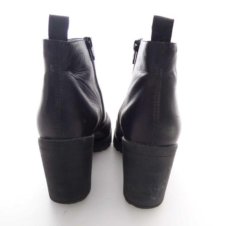 Vagabond Leder Stiefelette Schuhe Gr. 41 Schwarz Echtleder (HH) – Bild 4