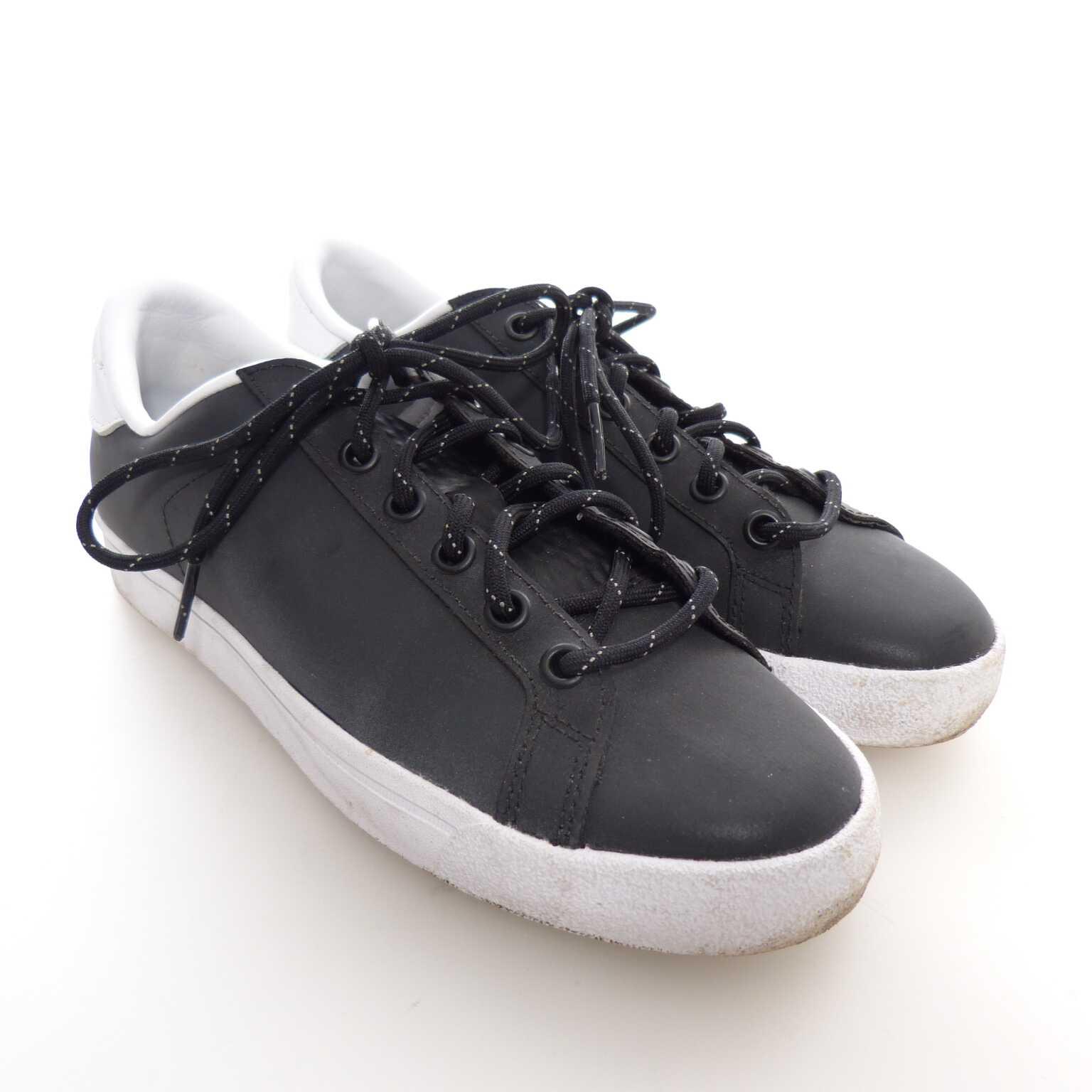 brand new c64e0 cd04f Adidas Sneaker Schnür Schuhe Gr. 38 Schwarz Weiß (AHB)