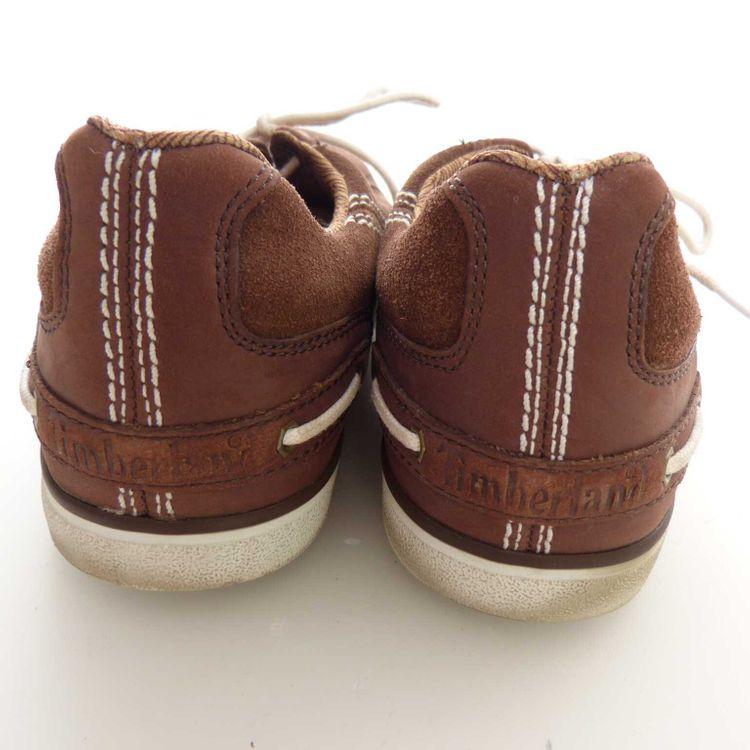 Timberland Leder Schnürschuhe Schuhe Gr. 39,5 DE  / 8,5 US in Braun (MUC) – Bild 4
