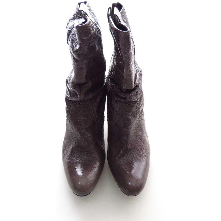 Abro Leder Stiefeletten Gr. 37,5 DE / 4,5 UK in Taupe Grau NEU (AHB) – Bild 3