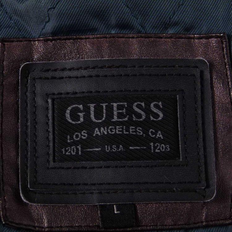 Guess Jacke Gr. L in Braun Leder Optik (AHB) – Bild 3