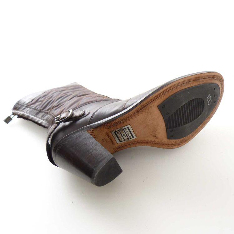 Belstaff Roadmaster Leder Quilted Boots Stiefeletten Gr. 37 in Braun (AHB) – Bild 5