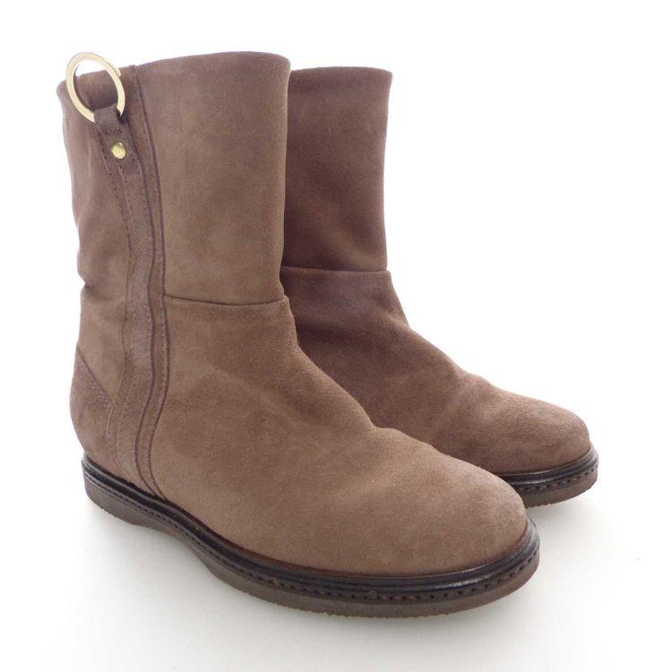 Tommy Hilfiger Stiefelette Schuhe Gr. 36 in Braun Echt Leder (AHB) – Bild 1
