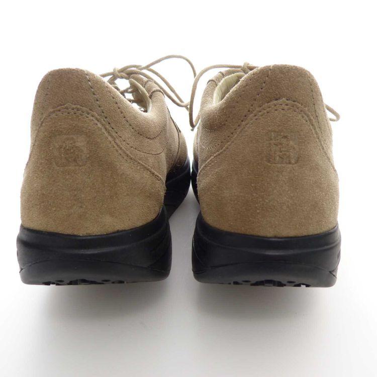 Masai Barefoot Technology Leder Schnür Schuhe Gr. 40 1/3 in Beige Grau (AHB)  – Bild 4