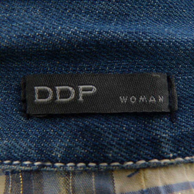 DDP Jeans Weste Gr. S in Blau Applikationen (AHB) – Bild 3