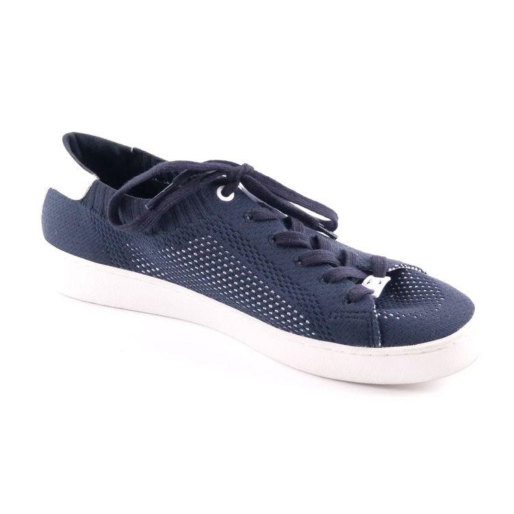 Michael Kors Sneaker Schuhe Gr. 40 / 9 Blau Weiß Mesh Optik (HH) – Bild 2