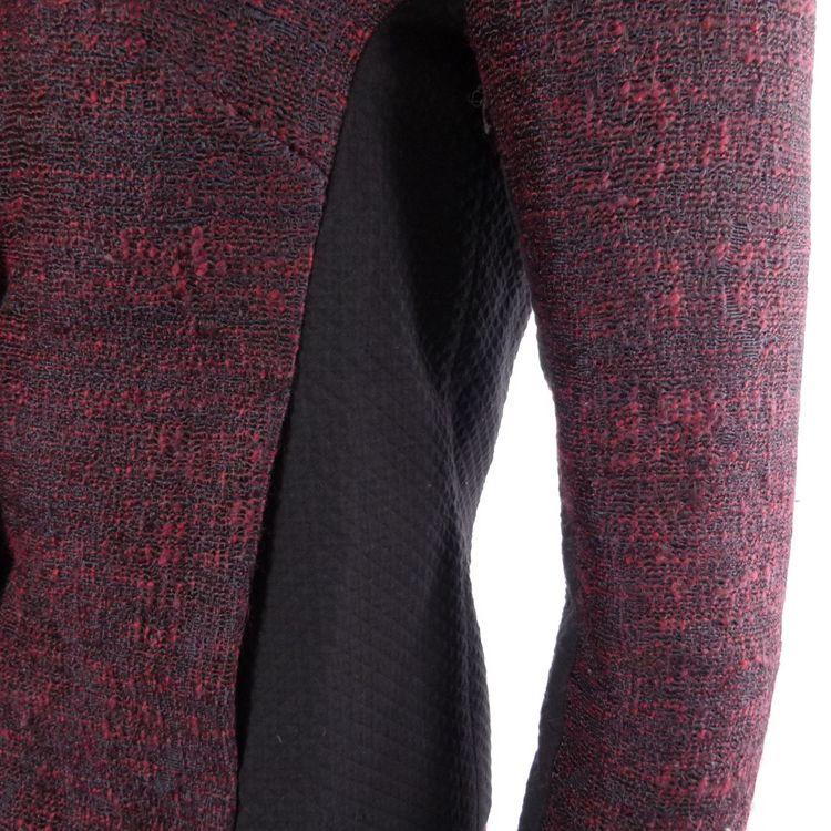 Comptoir des Cotonniers Kostüm Blazer & Rock Gr. 34 / 36 Rot Blau Meliert (HH) – Bild 3
