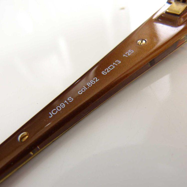Just Cavalli JC091S Sonnenbrille in Braun Gold (AHB) – Bild 5
