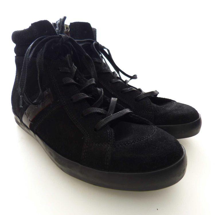 Marc O'Polo Mid Sneaker Schnür Schuhe Gr. 40 in Schwarz NEU (AHB) – Bild 1
