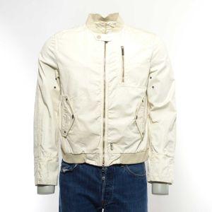 Add Harrington Jacke Gr. 50 in Cremeweiß Creme Ivory NEU (MUC)