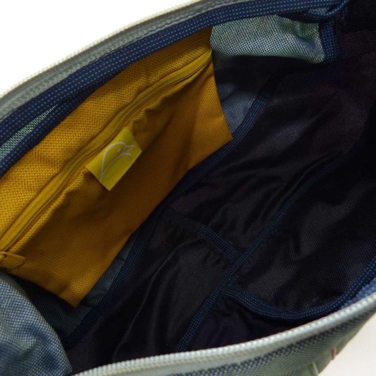 Mandarina Duck Umhänge Crossbody Tasche in Blau Multicolor (AHB) – Bild 4