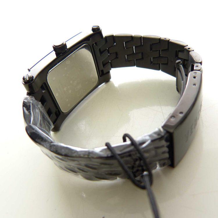 Versus Versace 3C7180 Stainless Steel WR 50m Armbanduhr Uhr in Schwarz NEU (MUC) – Bild 3