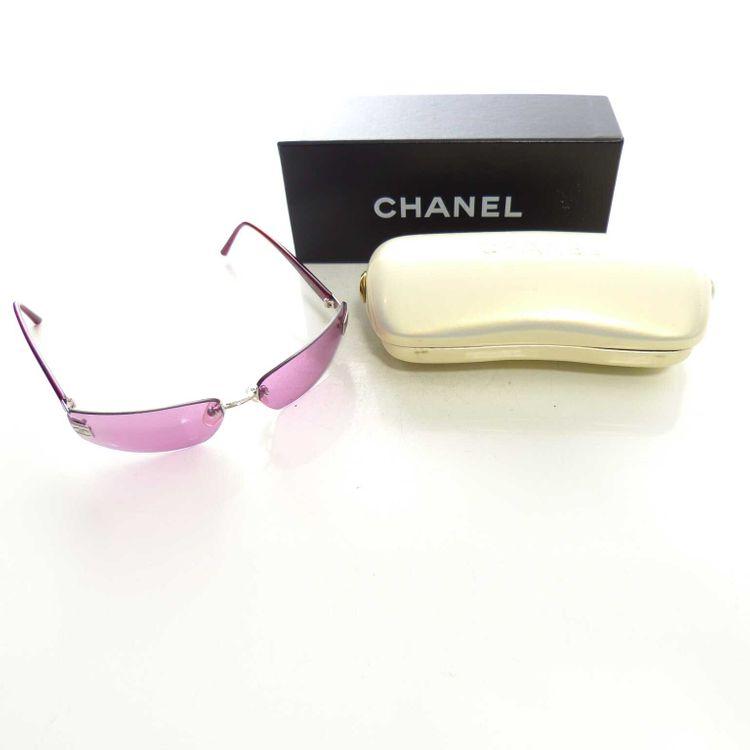 Chanel 4018147/76 Sonnenbrille Brille in Rot Weinrot (MUC) – Bild 1
