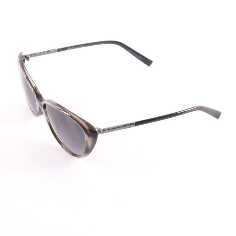 Christian Dior Piccadilly F Sonnenbrille XMOHD Grau Schwarz Lila Silber (HH) – Bild 3