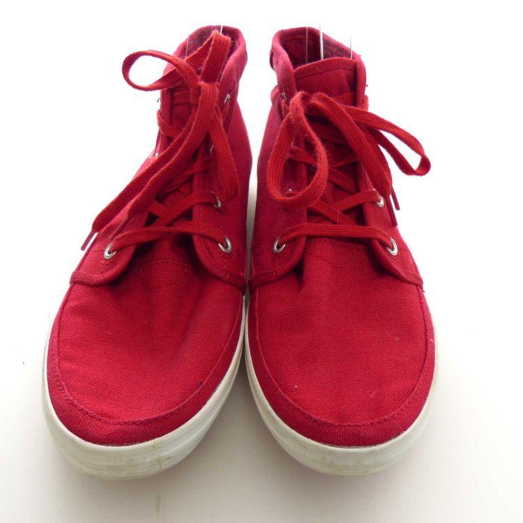 Lacoste Sport High Sneaker Schnür Schuhe Gr. 37,5 in Rot (AHB) – Bild 3