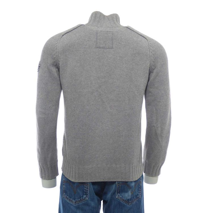 Marc O'Polo Strick Pullover Troyer Gr. M in Grau (HH) – Bild 2