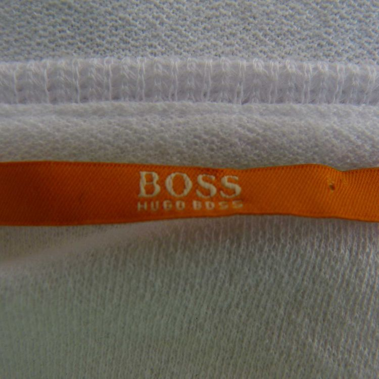 Hugo Boss Orange Shirt Gr. L in Weiß Multicolor (AHB) – Bild 3