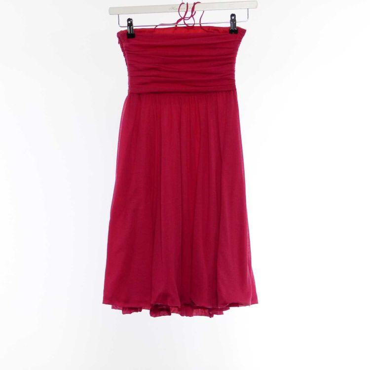 Strenesse Gabriele Strehle Träger Kleid Gr. 34 in HImbeerrot Rot (HH) – Bild 2