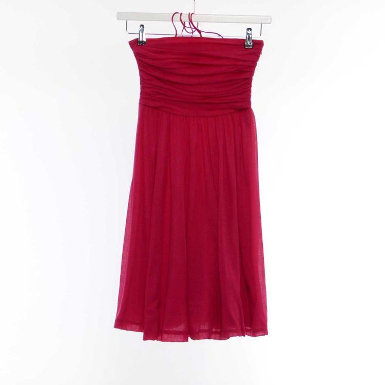 Strenesse Gabriele Strehle Träger Kleid Gr. 34 in HImbeerrot Rot (HH) – Bild 1