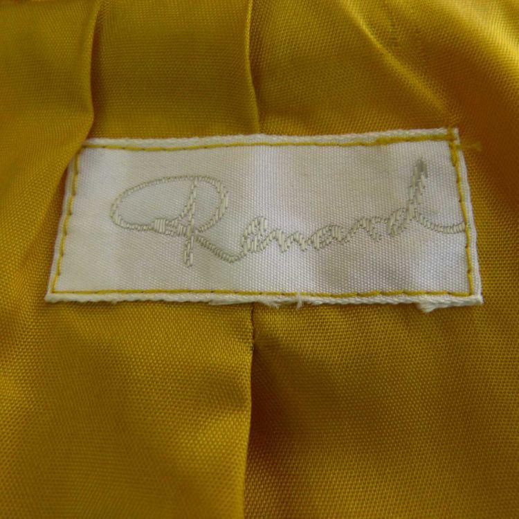 Renard Kostüm Gr. 40/42 in Sefgelb Gelb 100% Seide (AHB) – Bild 3