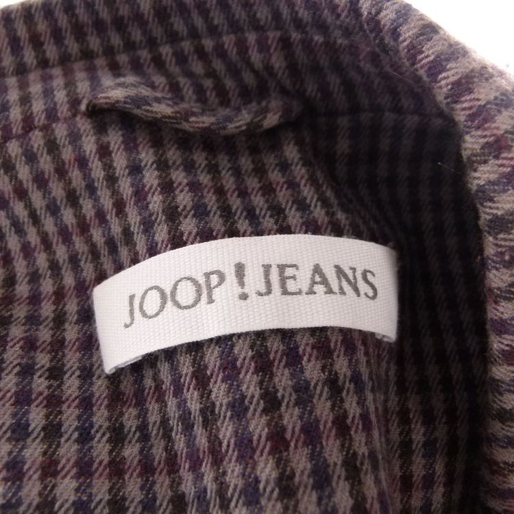 Joop Jeans Blazer Gr. 34 Grau Lila Kariert mit Wolle (HH) – Bild 3