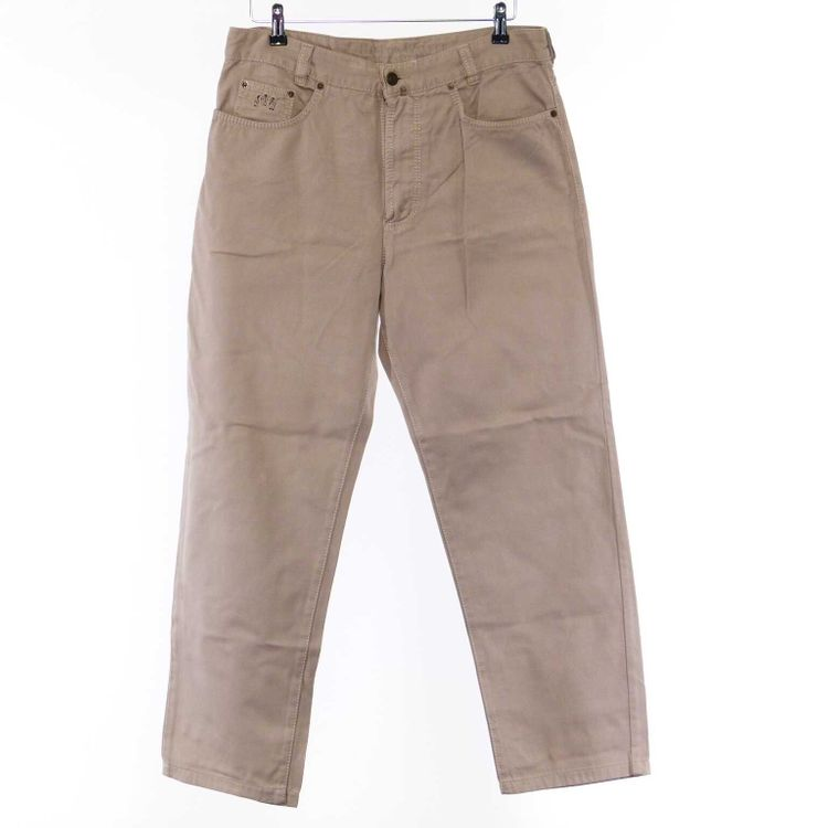 Harlem Walker by Joker Denim Hose W34 L30 - 34/30 in Graubeige Beige (AHB) – Bild 1