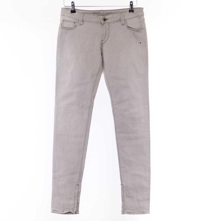 Guess Los Angeles stretch Denim Jeans Hose W30 in Steingrau Grau (AHB) – Bild 1