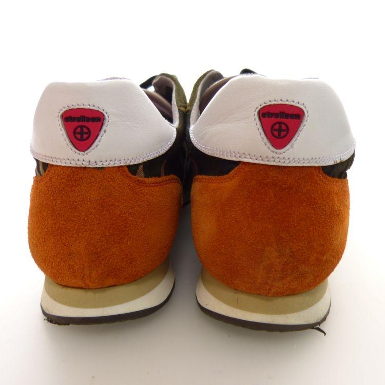 Strellson Sportswear Shayne Lace Camo Schuhe Gr. 41 in Grün Multicolor NEU (AHB) – Bild 4