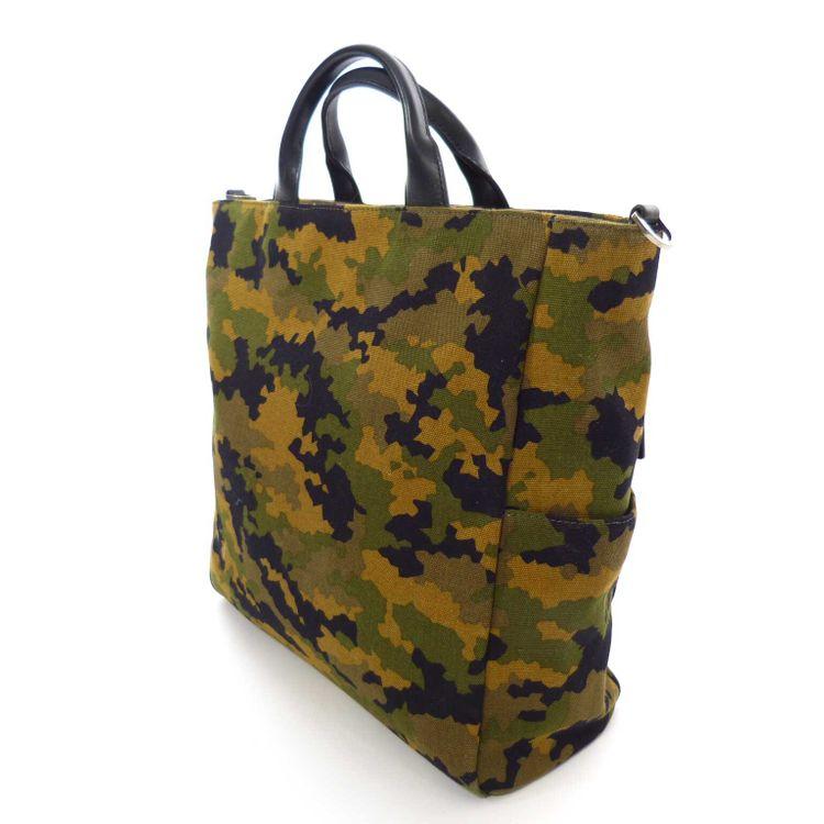 Michael Kors MK Camouflage Trage Shopper Tote Trage Tasche in Grün Beige (HH) – Bild 3
