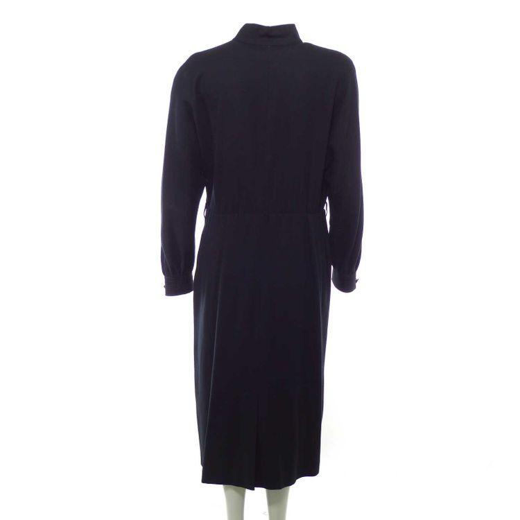 Jobis Langarm Kleid Gr. 42 in Schwarz (HH) – Bild 2