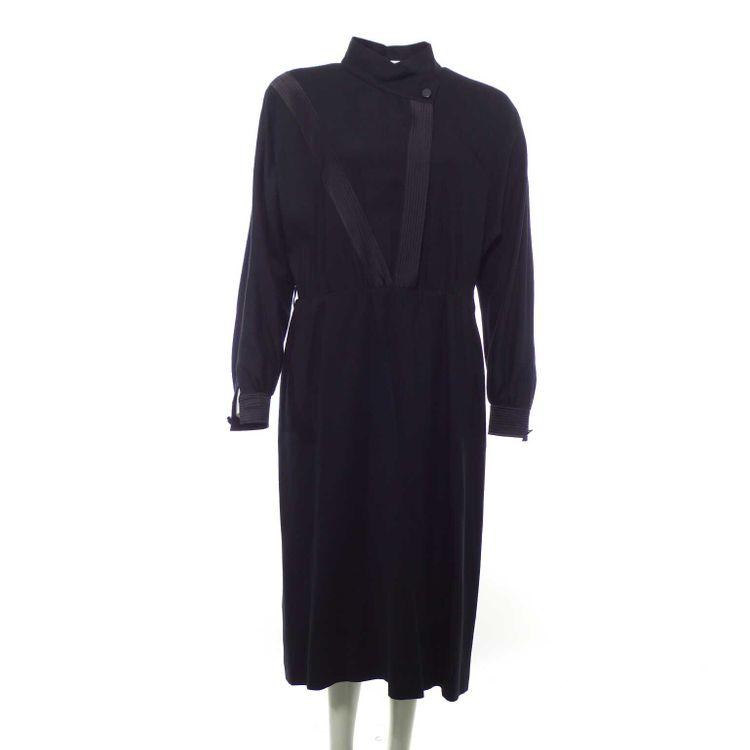Jobis Langarm Kleid Gr. 42 in Schwarz (HH) – Bild 1