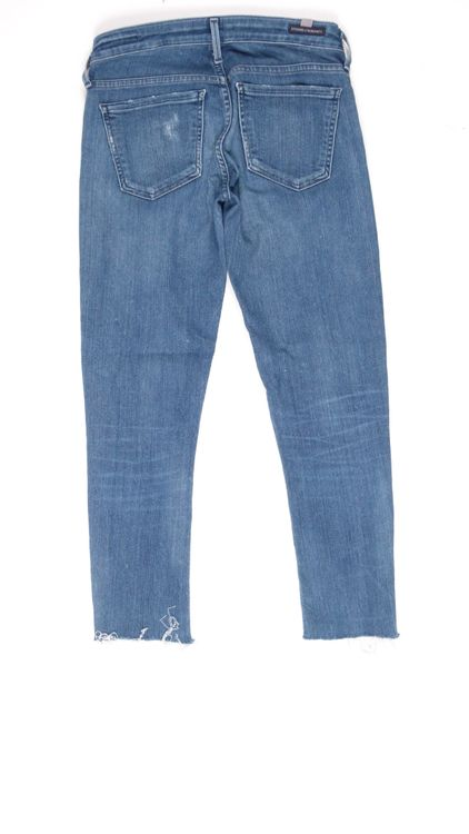 Citizens of Humanity 7/8 Jeans Hose W 25 in Blau Usedlook (HH) – Bild 3